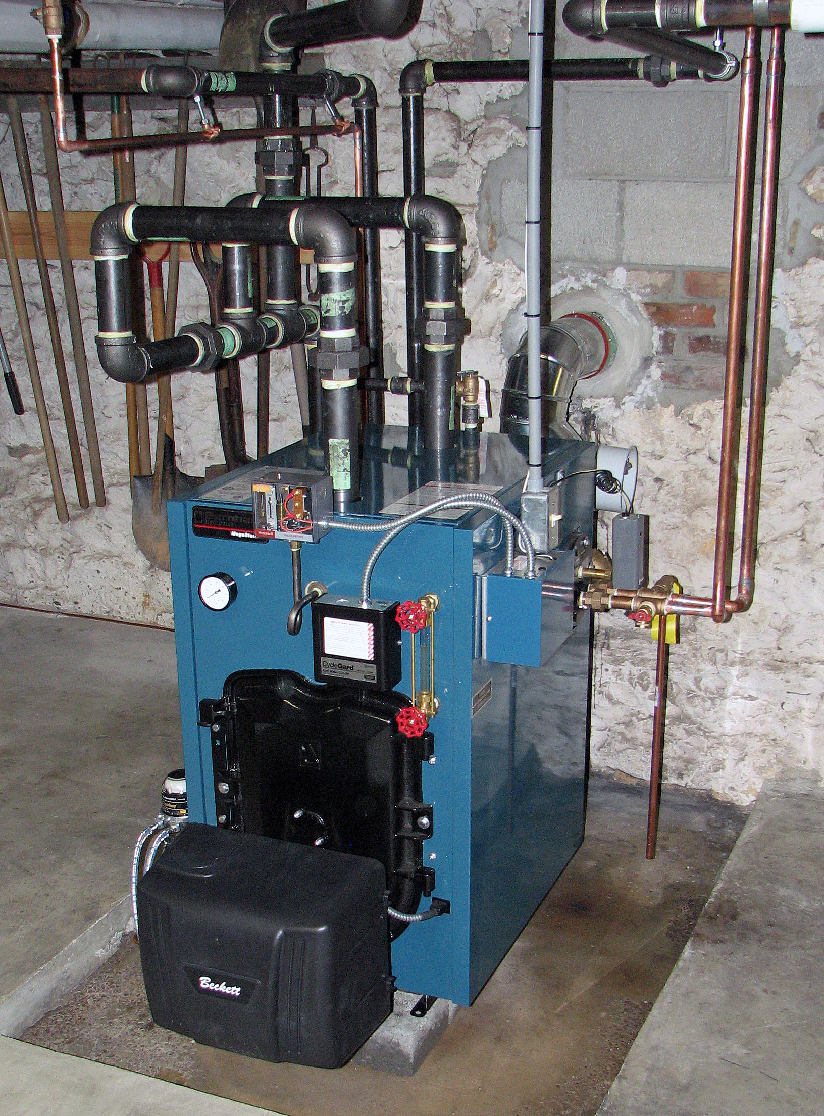 Oil Boiler Smoking Residential Wiring Diagram