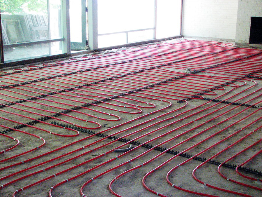 radiant heating Washington D.C. area
